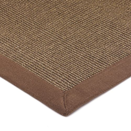 Sisal With Cotton Mocha Border Rug